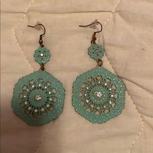 Forever 21 Mint earrings